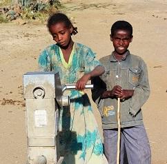 Matsäkerhetsprojekt i Enderta Woreda, Tigray, Etiopien.