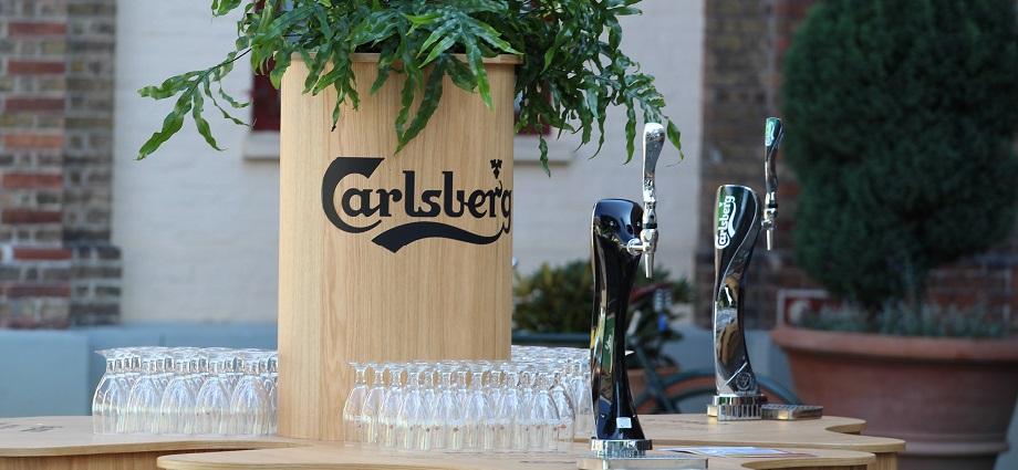 Carlsberg's ZERO Carbon Windmill Bar Okorkat